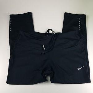 Nike Dri-Fit Cropped Leggings Womens Small